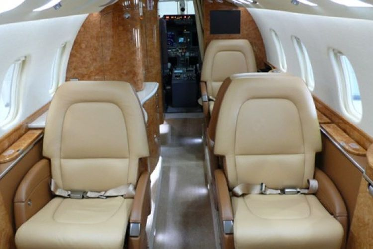 Learjet 60 Private Jet
