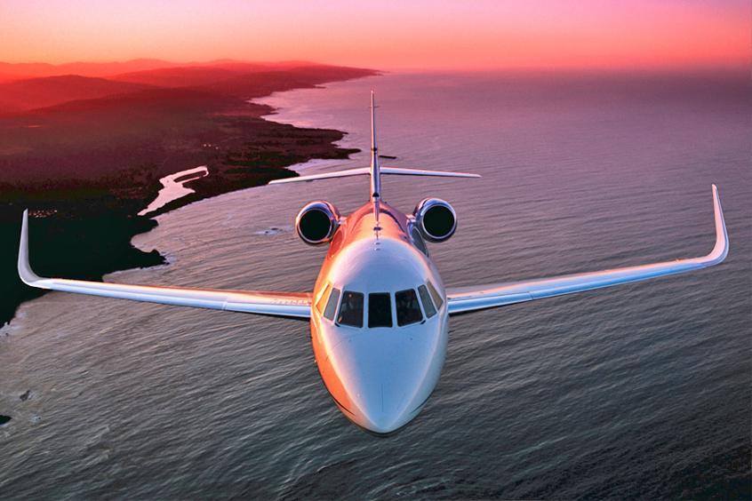 Falcon 2000 Private Jet