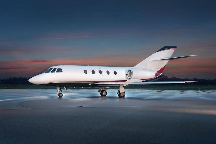Falcon 20 Private Jet