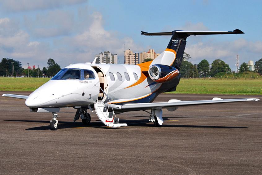 Phenom 100 Private Jet