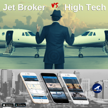 Private Jet Charter Options – when charter brokers face their Ai Tech colleagues in 2019
