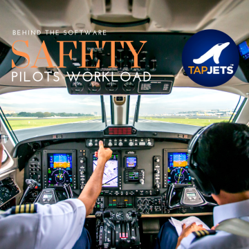 How TapJets® reduces pilot workload and is making your flight safer?