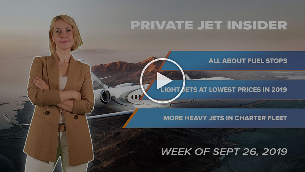 Private Jet Insider. Week of Sept 27, 2019. Episode 3