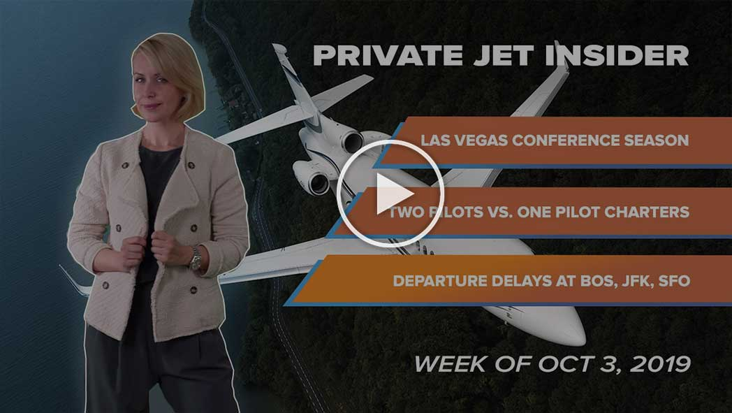 Private Jet Insider. Week of Oct 3, 2019. Episode 4