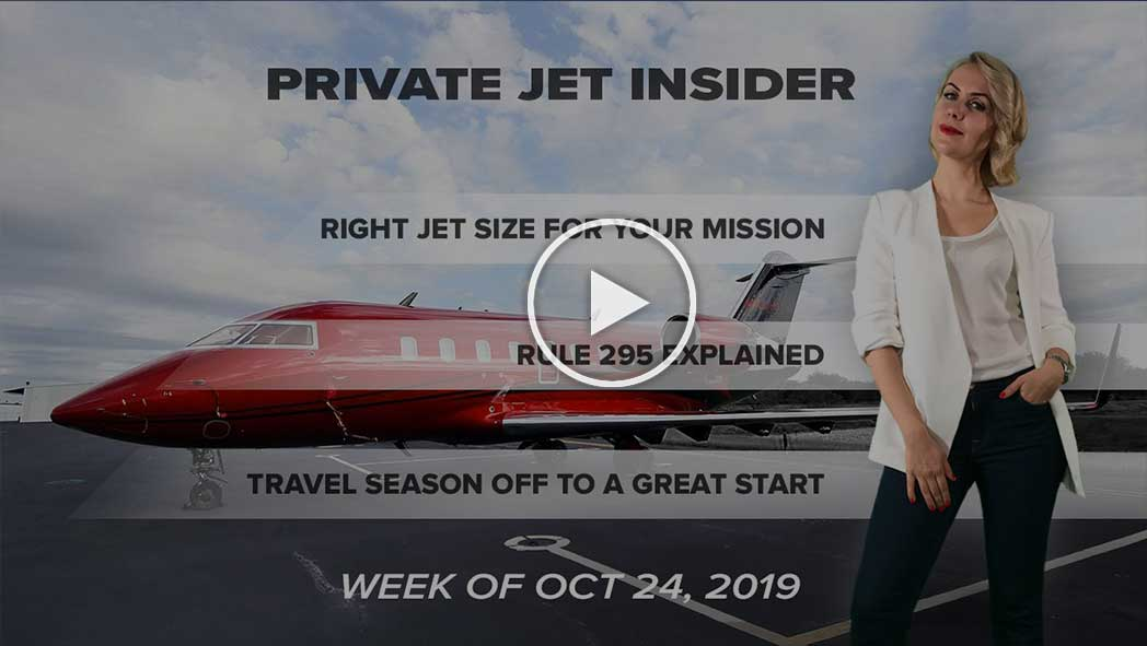 Which Size of Private Jet is Right for Your Mission?