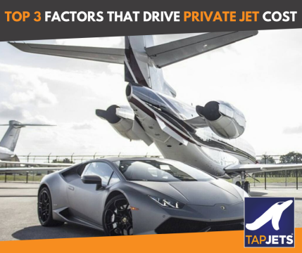 Top 3 Factors That Determine The Cost Of Private Jet Charter In 2019